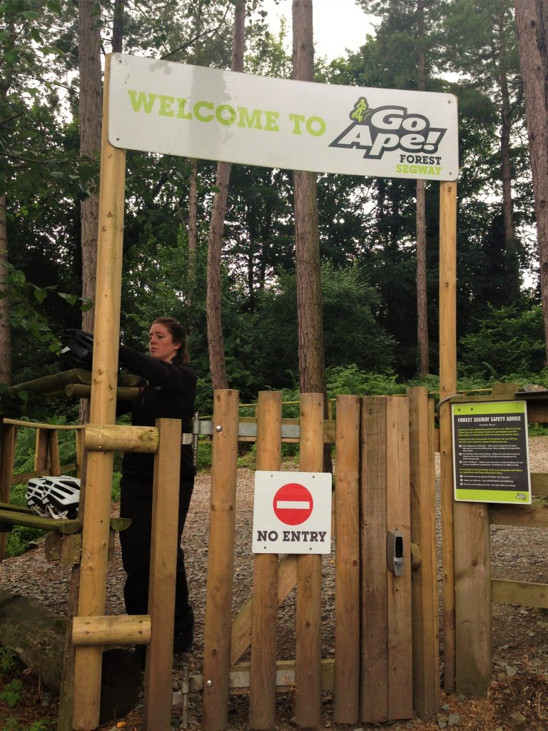 Fountain of Travel Delamere Forest Go Ape Segway Entrance
