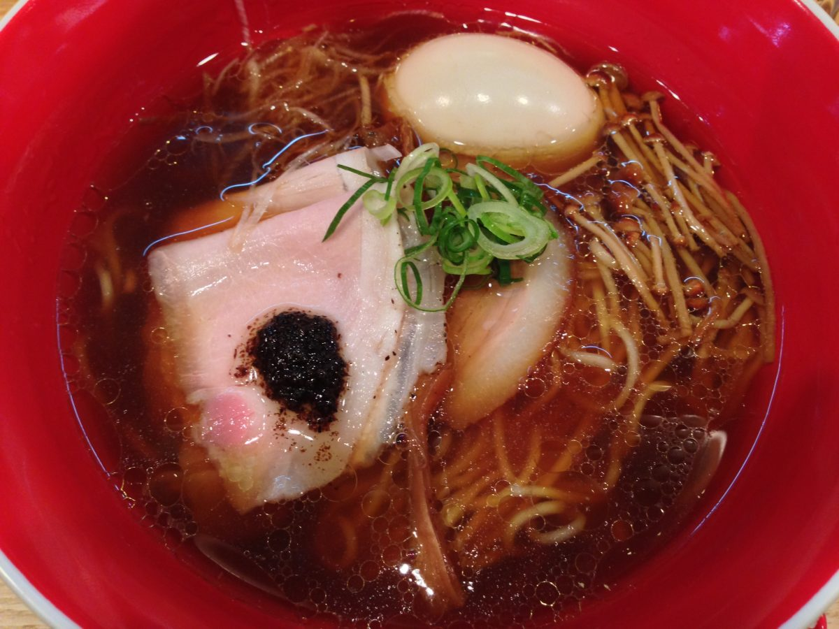 Fountain of Travel 6 Day Tokyo Itinerary Tsuta Ramen Michelin Star Noodles