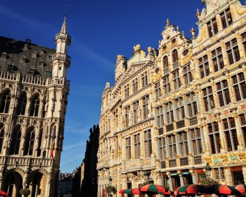 Fountain of Travel 24 Hours in Brussels Grand Place