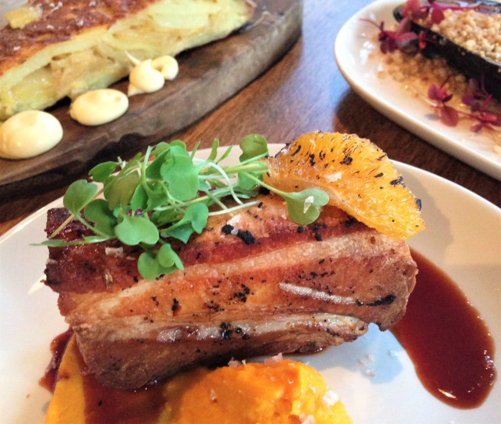 Fountain of Travel A Foodie's Guide to Restaurants in Northern Quarter Manchester Evuna Pork Belly