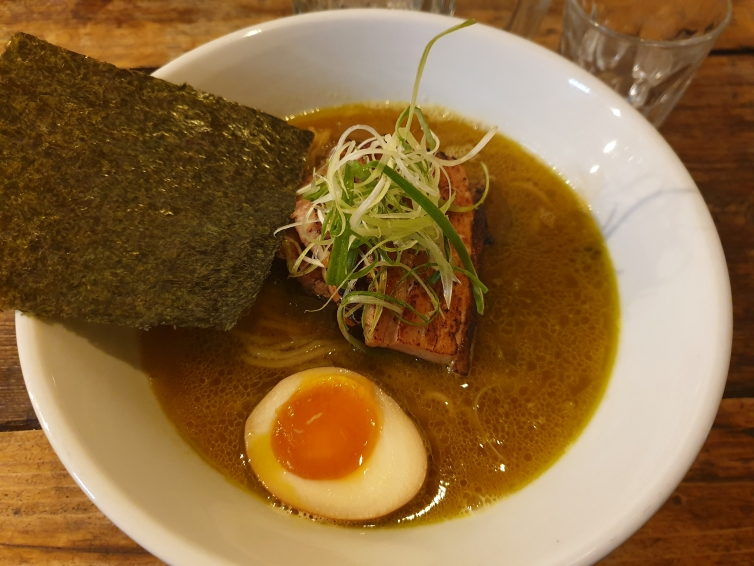 Fountain of Travel Places To Eat in Northern Quarter Tokyo Ramen Noodle Bowl