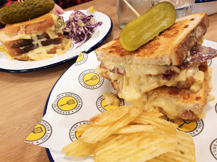 Fountain of Travel Places to Eat in Northern Quarter Northern Soul Grilled Cheese