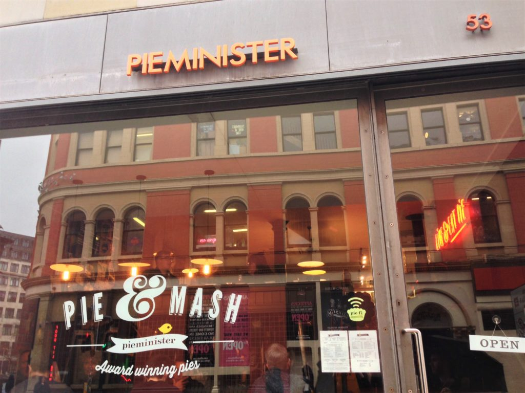 Fountain of Travel Restaurants in Northern Quarter Pieminister