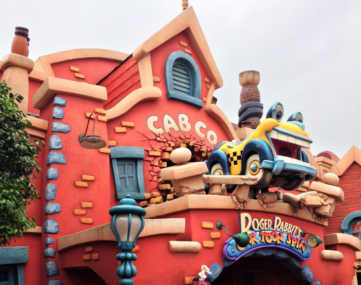 Fountain of Travel A Rainy Day at Tokyo Disneyland Roger Rabbit
