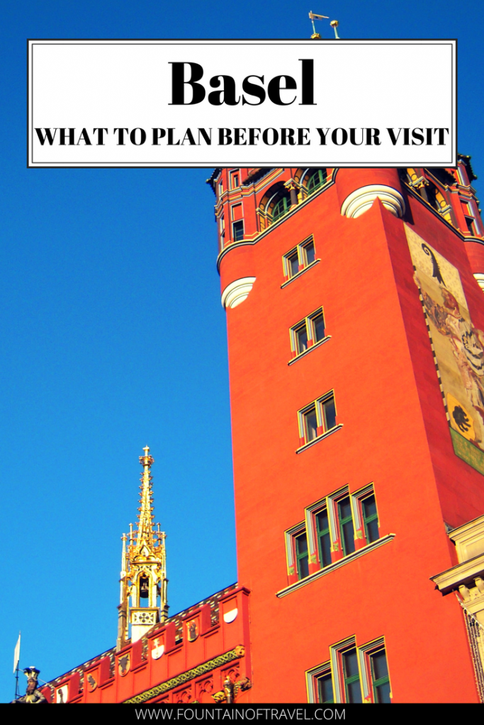 Fountain of Travel Things You Should Think of Before Visiting Basel Switzerland. Find out what you should plan in advance for your trip to Basel, Switzerland.