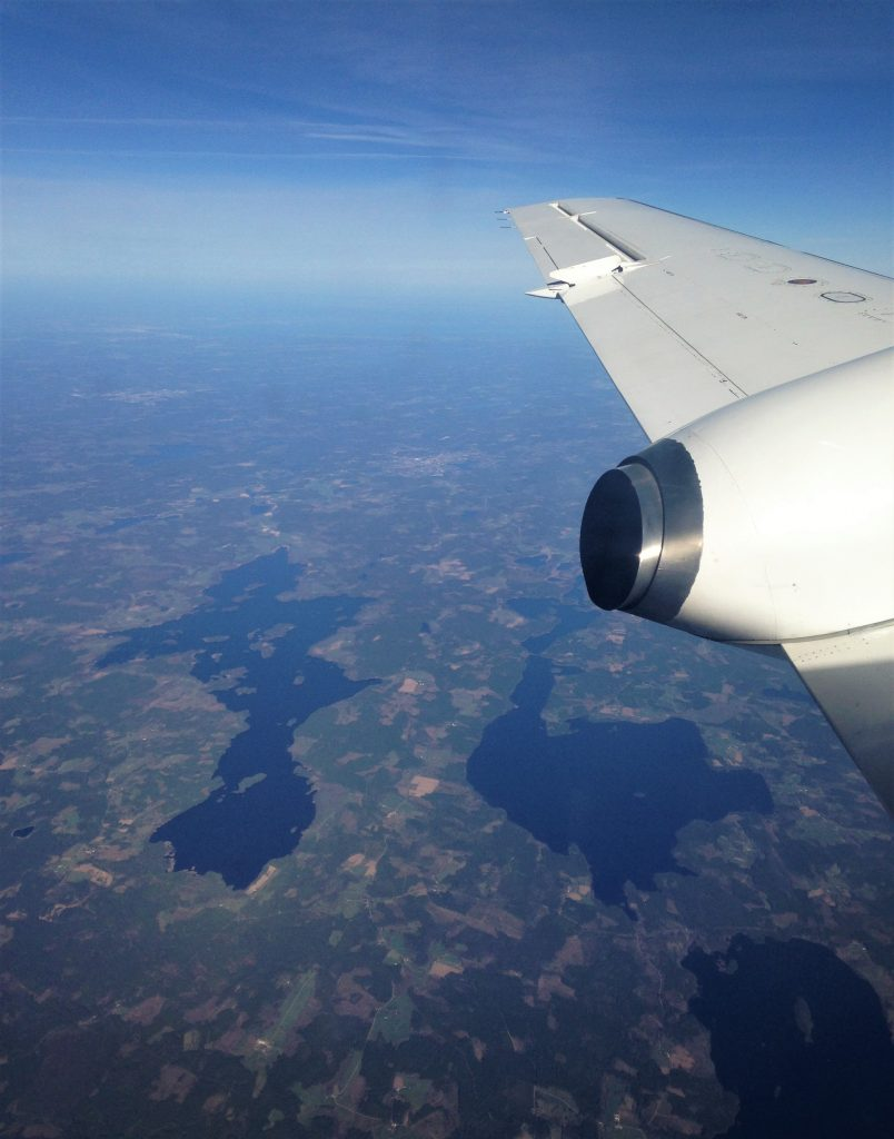 Fountain of Travel 2017 Year Summary Airplane View
