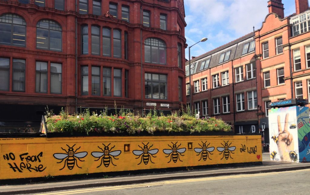 Fountain of Travel A Manchester Weekend Break Northern Quarter Bee Street Art