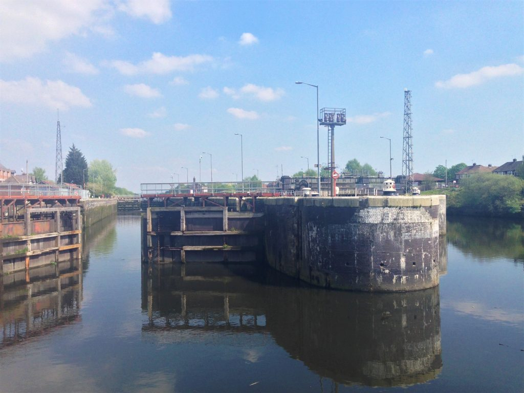 Fountain of Travel How to Cruise Down Manchester Ship Canal Locks