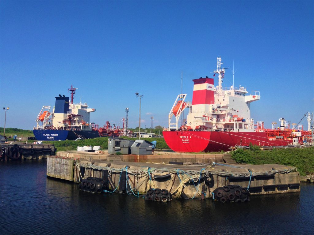 Fountain of Travel How to Cruise Down Manchester Ship Canal Oil Carriers