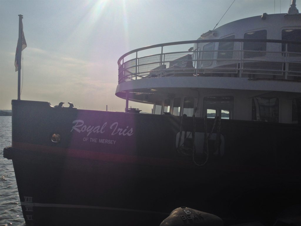 Fountain of Travel How to Cruise Down Manchester Ship Canal Royal Iris of the Mersey