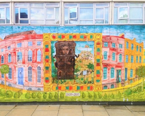 Fountain of Travel An Alternative Afternoon in Shoreditch London Tiles Art