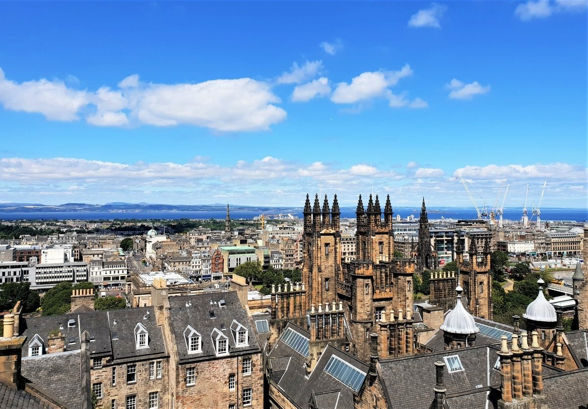 How To Spend 24 Hours in Edinburgh, Scotland View from Camera Obscura
