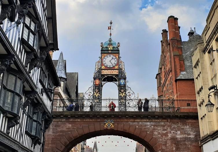 Fountain of Travel 14 Free Things To Do in Chester, England For Adults Eastgate Clock