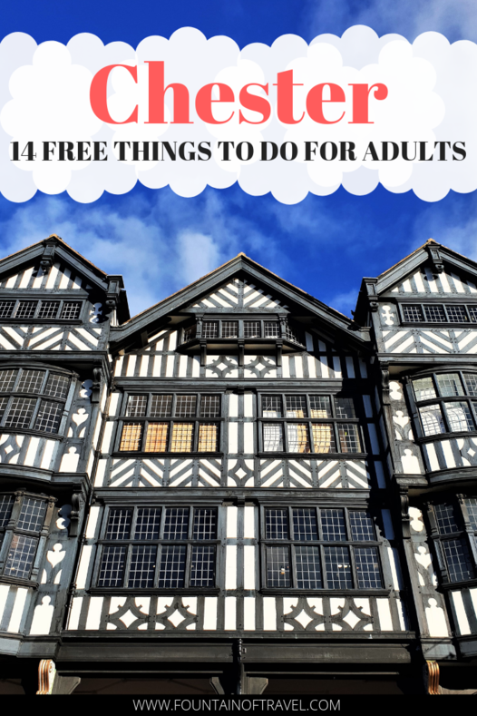Fountain of Travel 14 Free Things To Do in Chester, England For Adults