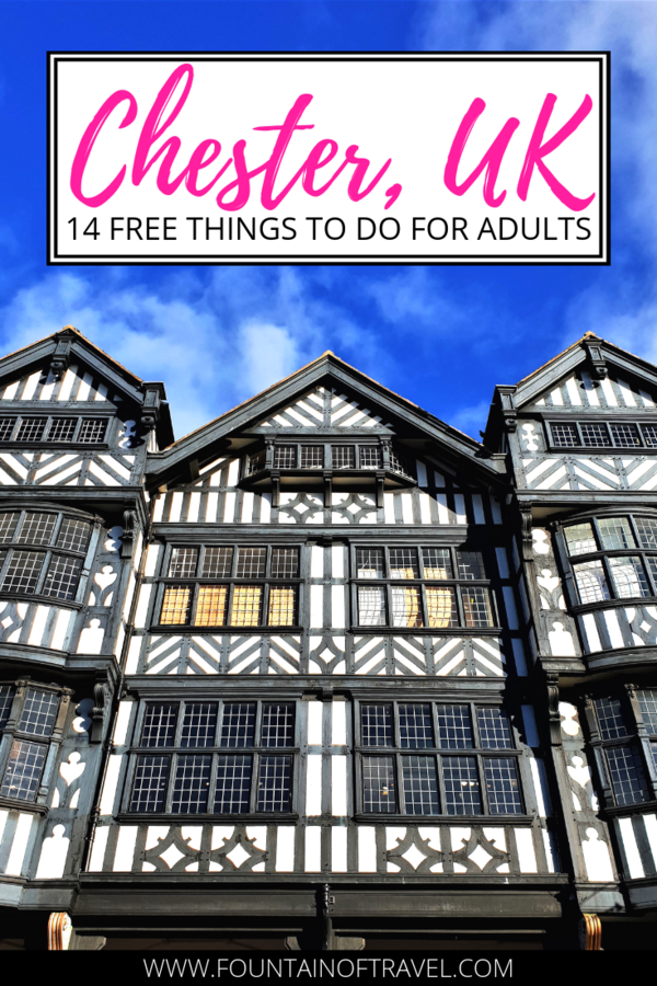 Fountain of Travel Free Things To Do in Chester, England For Adults