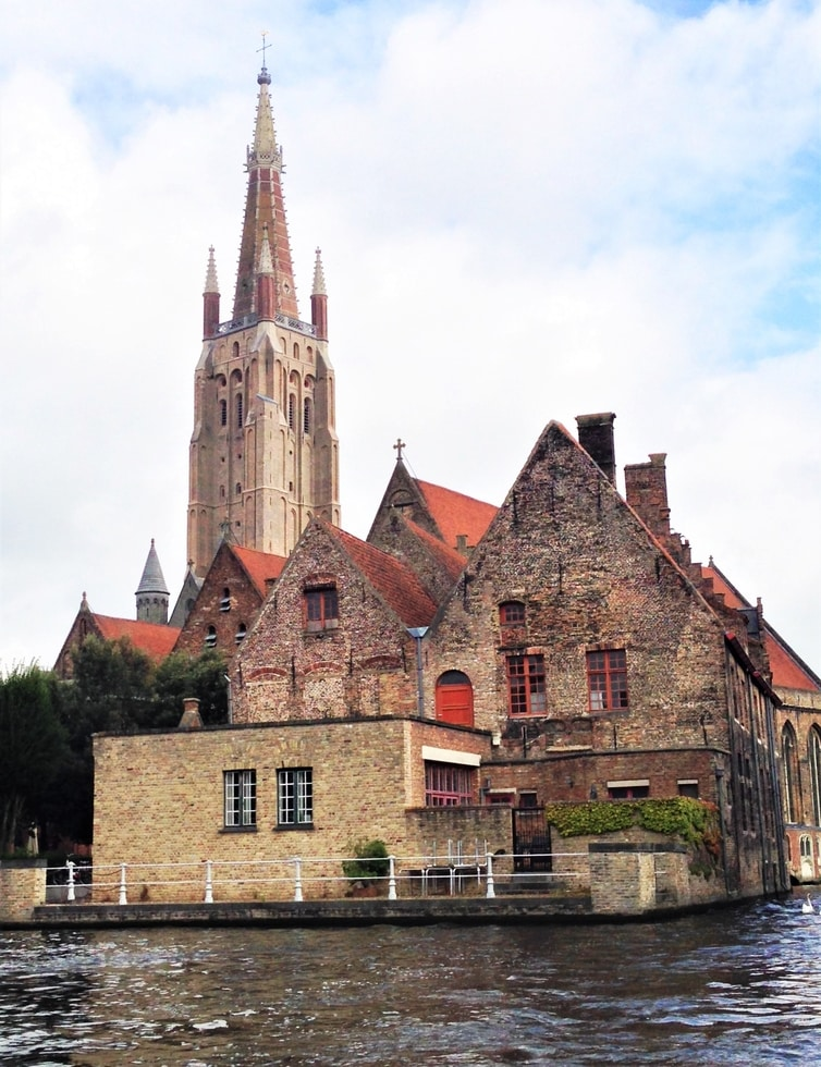 Fountain of Travel One Day in Bruges Itinerary Church of Our Lady Outside