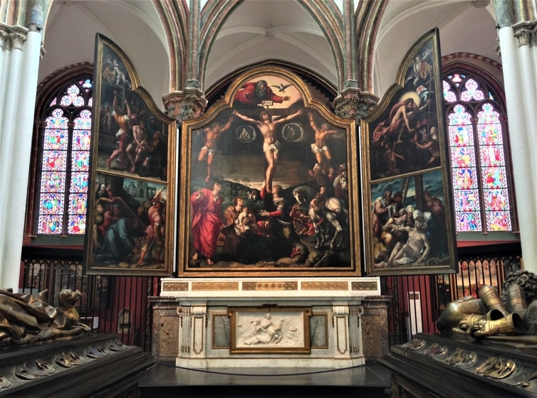 Fountain of Travel One Day in Bruges Itinerary Church of Our Lady Painting