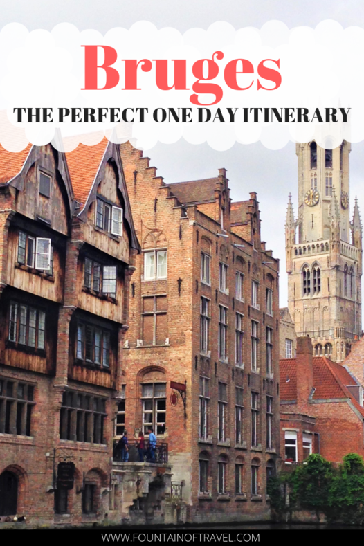 Fountain of Travel The Perfect One Day in Bruges Itinerary For First-Time Visitors