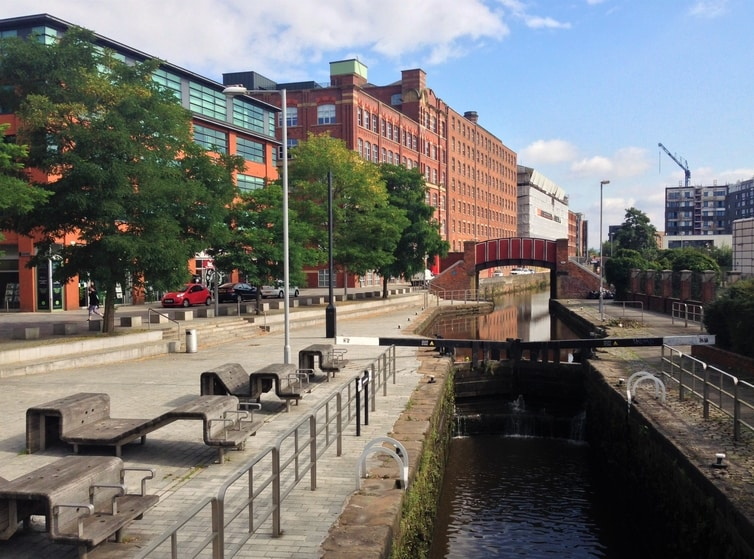 Fountain of Travel Visit Manchester Ancoats Canal