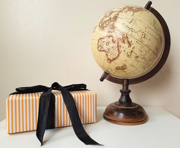 Fountain of Travel Gift Guide for Travel Lovers Vintage Globe