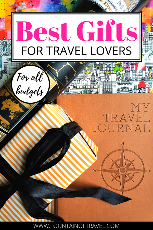 Fountain of Travel Gifts For Travel Lovers That Will Ignite Their Wanderlust