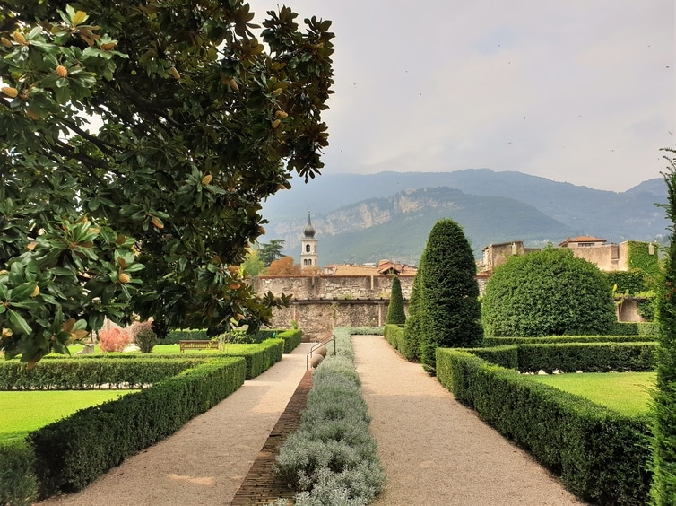 Fountain of Travel Things to do in Trento Buonconsiglio Castle Garden