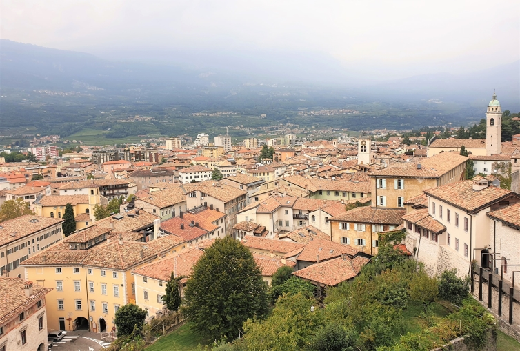 Fountain of Travel View of Rovereto from Rovereto Castle